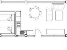 2 dormitorios, El Medano, Granadilla